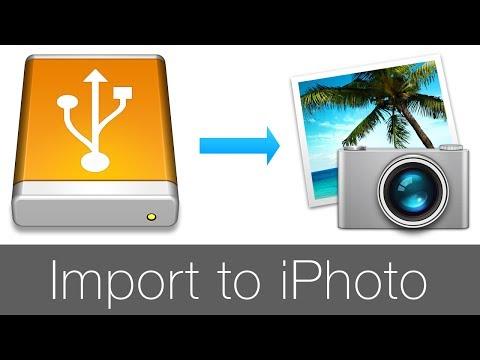Import Photo to iPhoto / Импорт фотографий в iPhoto