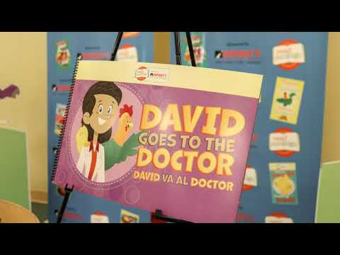 Read Conmigo Book Launch - David Goes to the Doctor | Infinity Insurance