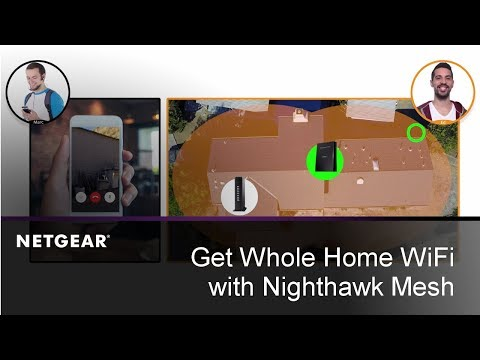 Get Whole Home WiFi with Nighthawk Mesh | NETGEAR