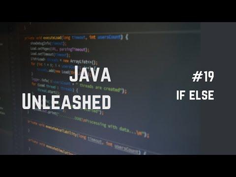 #19 Java If Else Explained