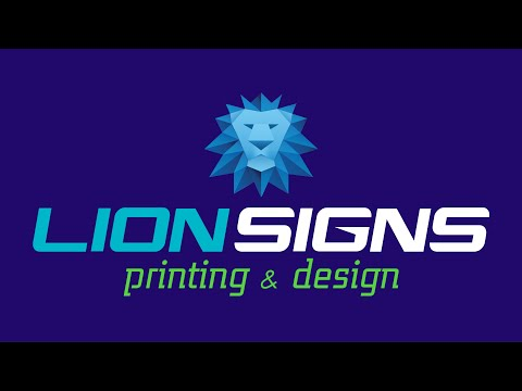 Lion Signs Printing & Design | McAllen's Best Printing & Sign Company