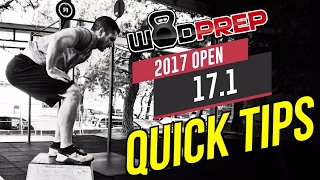 CrossFit Open 17.1 WOD Quick Tips (WODprep Official!)