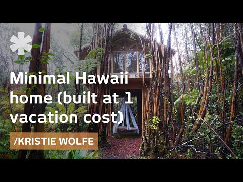 Building your own Hawaii minimal house for a vacation's cost