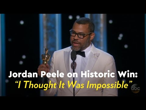 """Jordan Peele on Historic Win: """"I Thought It Was Impossible"""""""