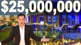 Inside a $25,000,000 Custom Built Las Vegas Mansion