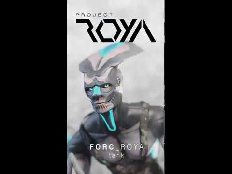 Project_ROYA - Forc - Motion Poster (Eevee Animation)
