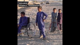 Children injured in clashes between Taliban and Afghan troops