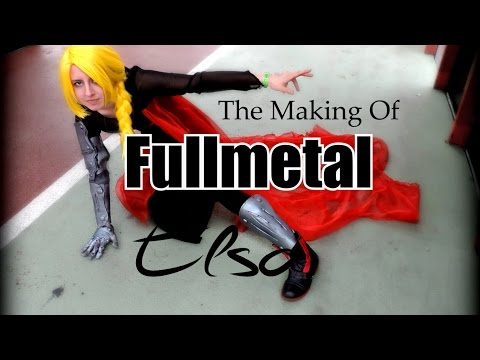 The Making of Fullmetal Elsa | COSPLAY