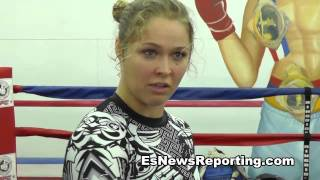 Ronda Rousey On How Much Money Do You Get If You Win Olympic Gold Esn