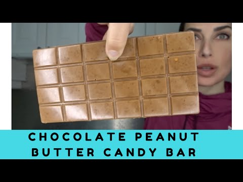 Chocolate Peanut Butter Candy Bar Recipe | High Protein