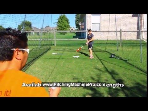 Baseball Softball BackYard Batting Cage Kits Sturdy Easy to Assemble