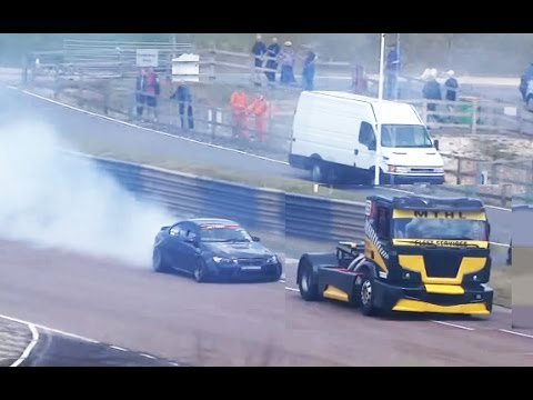 600BHP BMW E92 (2JZ) & DRIFT TRUCK SLIDING