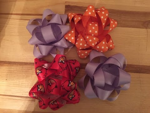 Making Easy Gift Bows!
