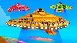 WHO HAS THE BEST UFO CHALLENGE!? - Trailmakers