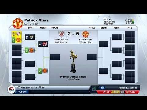 Fifa 13 Ultimate Team | Trophy-Hunt! - Premier League Shield Tournament |  by PatrickHDxGaming