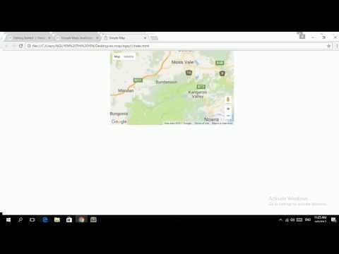 Bai1: Google Maps APIs - Map Javascripts API (Hướng dẫn hiển thị bản đồ lên website)