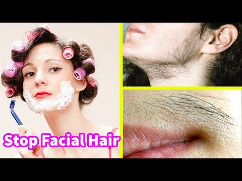 Remove Facial Hair Fast Permanently with Remedy at Home Urdu Hindi