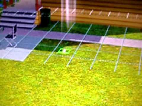 How to plant a seed in The Sims 3 - XBOX 360