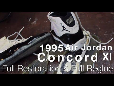 1995 Air Jordan Concord XI Full Restoration