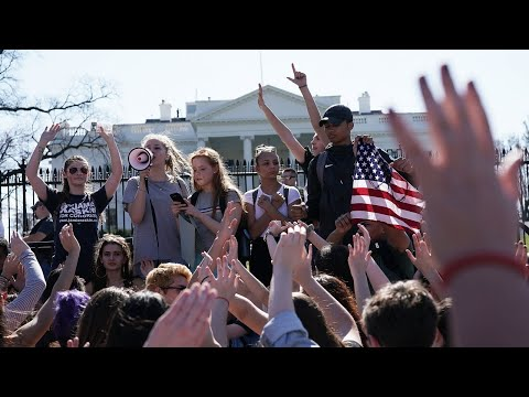 This is the history of US student-led protests