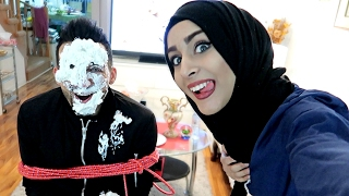 SHE SMASHED CAKE ON MY FACE (PRANK)