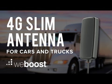 New 4G Slim Antenna - All You Need To Know | weBoost