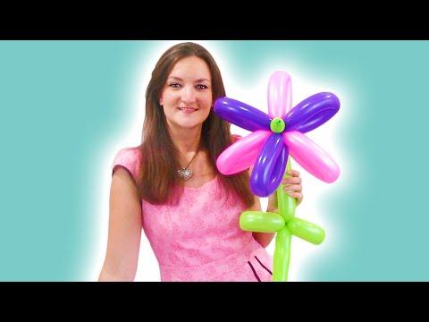 Easy Flower Balloon Animal Tutorial