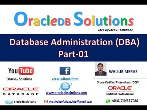 Oracle DBA | Create TableSpace | Bangla | DBA1-14