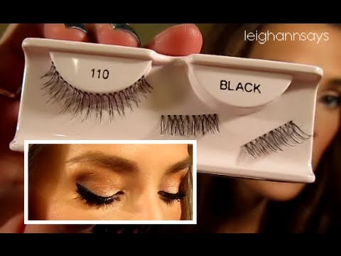 How To Lashes (application, removal, outtakes)