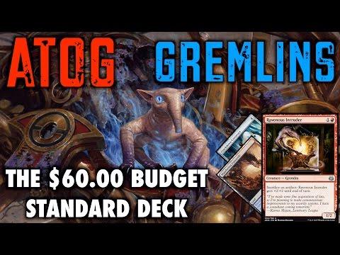 MTG - Atog Gremlins! The $60 Budget Standard Deck for Magic: The Gathering