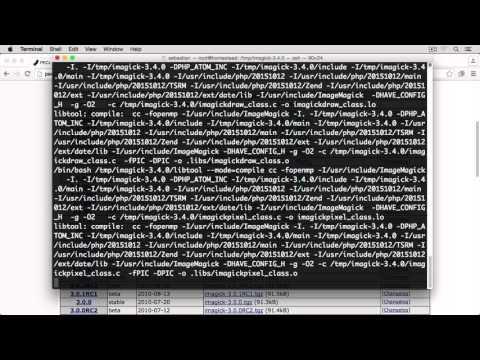 ImageMagick, Imagick and MagickWand on Homestead / Ubuntu with Nginx and PHP 7