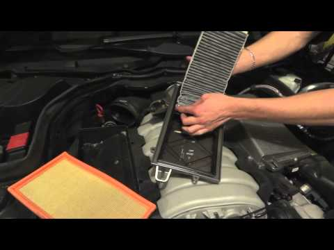 MB C63 Charcoal Filter Removal DIY