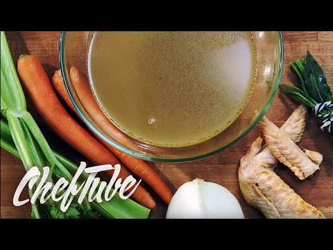 How to make a Chicken Stock - Directions in the description