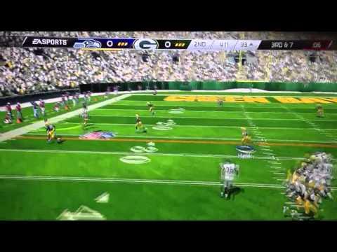 Invisible quarterback!( madden 25 demo)