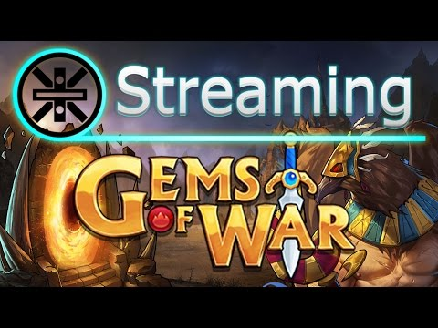 🔥 Gems of War Stream: Pharos-Ra, Answering Questions, and Low Level Account Search for Mythic 🔥