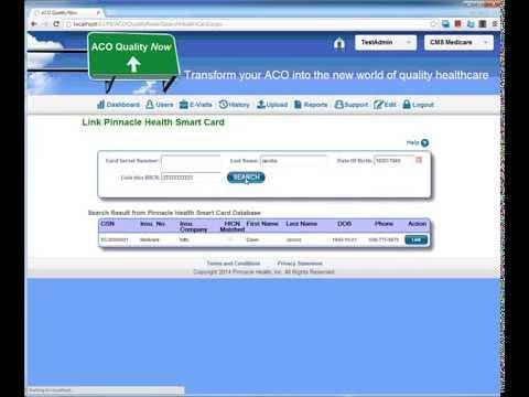 Link Pinnacle Health Smart Card