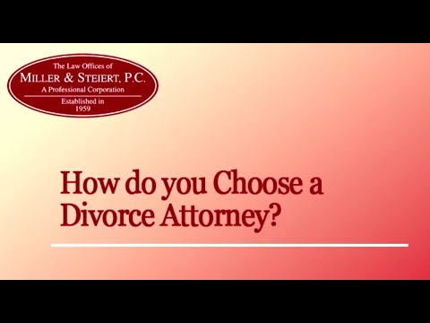 Colorado  Lawyer Discusses How To Choose A Divorce Attorney