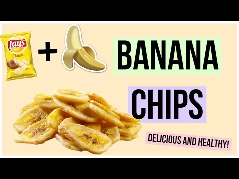 How to Make DELICIOUS Banana Chips!