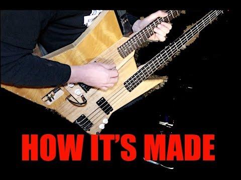 Modular Double Neck Guitar with mini Cajon || Making the Multitar