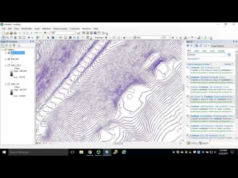 Module 5: How to Generate Contours in ArcGIS for Desktop