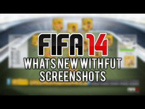 NEW FIFA 14 ULTIMATE TEAM INFORMATION INCLUDING SCREENSHOTS! (WITH LINK)