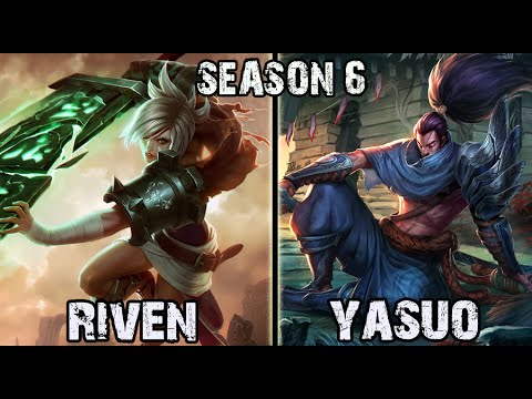 Best Riven Korea vs Yasuo TOP Ranked Challenger