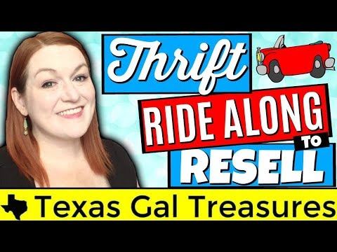 Thrift Store Ride Along 2018 - Thrifting Vlog - Goodwill Jewelry Jars