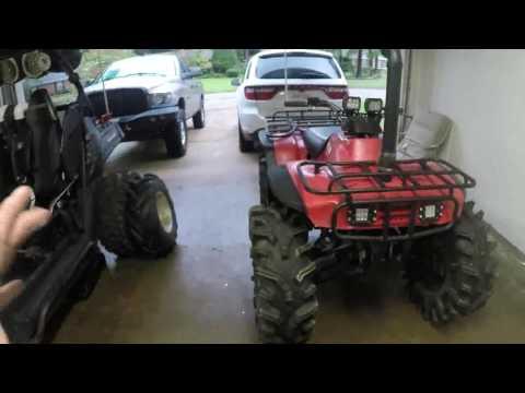 Honda 300 Tire Upgrades