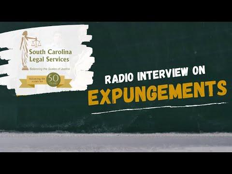 Radio Interview on Expungements