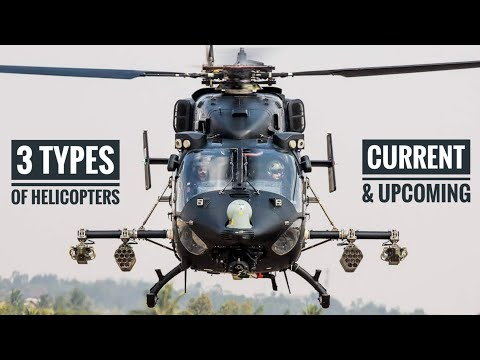 3 Types Of Indian Army Helicopters - Current & Future Helicopters Of Indian Army (Hindi)