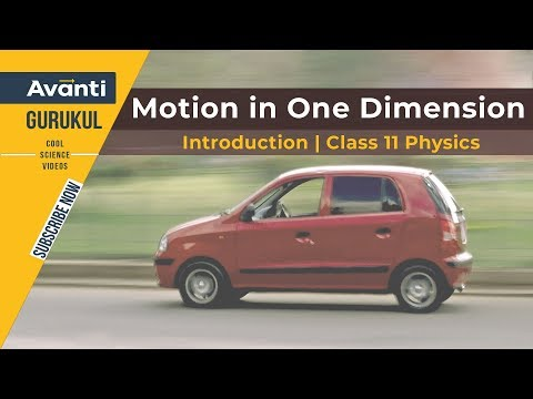 Introduction | Motion in One Dimension | Class 11 Physics