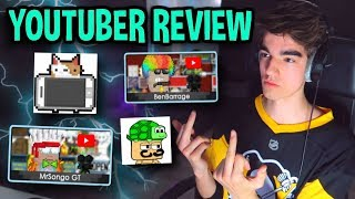 👏 ROASTING YOUTUBERS 👏 | Growtopia YouTuber Review