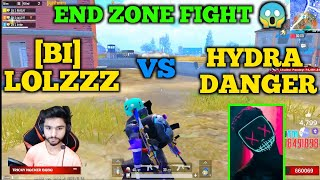 Bi team + shahms vs Hydra danger vs nucleya fight in last zone | Hydra alpha in match | emulator