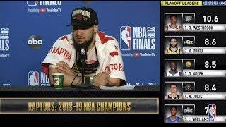 Fred VanVleet Press Conference   NBA Finals Game 6